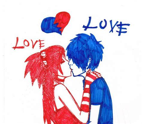 My Personal Blog: Emo Love