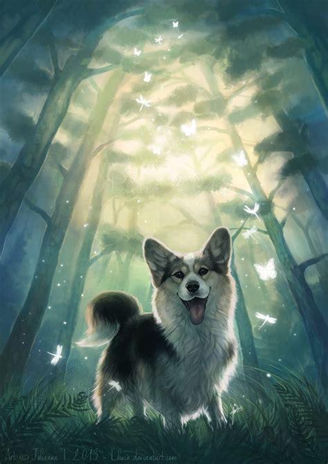 My real fantasy world by =Lhuin on deviantART #corgi ...
