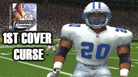 My TRUTH of the Barry Sanders Madden cover curse   YouTube