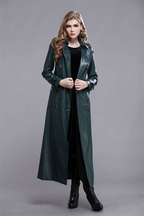 Mysterious Allurement Womens Leather Coat in 2019 | Long ...