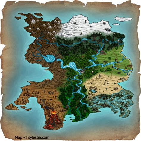 Mythical Cartography, The Artistry of Maps by techgnotic ...