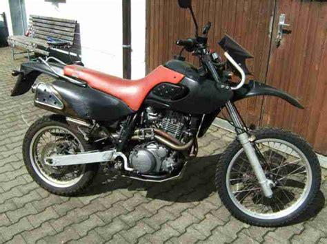 MZ MUZ Baghira 660 E   Unfall und Bastlermotorräder.