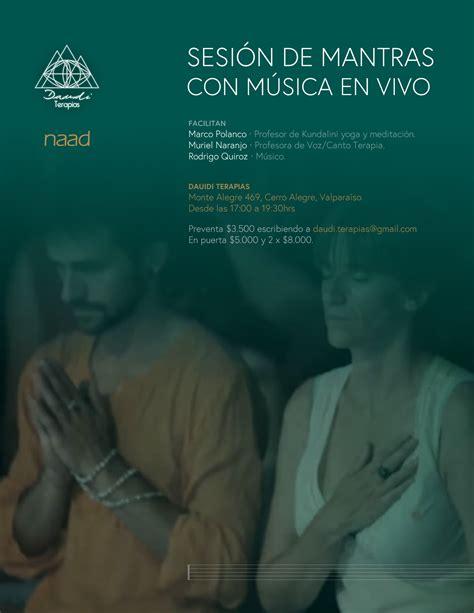 Naad Chile » Sesión de mantras con música en vivo