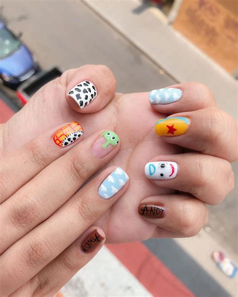 "NAB on Instagram: ""#toystory #nailart pintado a mano. Set ..."