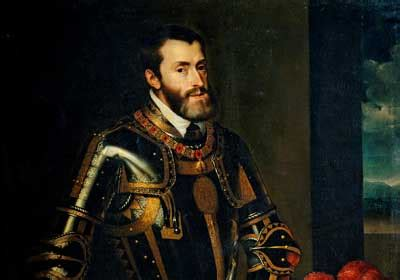 Nacimiento de Carlos V   Historia