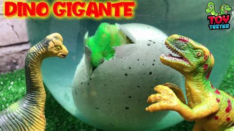 Nacimiento de dinosaurio gigante | Vídeos de huevos de ...