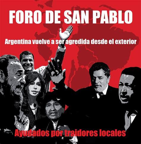 Nacionalismo Católico NGNP: LAS FARC, EL FORO DE SAN PAULO ...