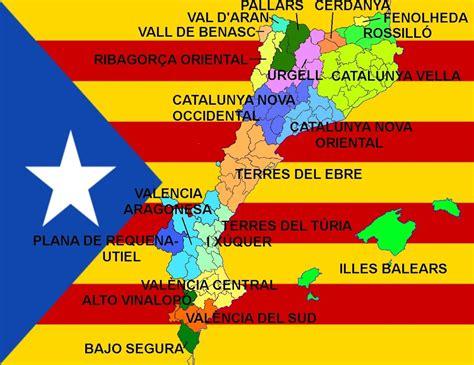 NACIONALISMOS, LENGUAS Y MAPAS DE IBERIA: Països Catalans