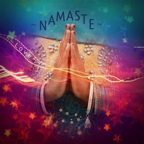 NAMASTE   Paz e amor, Mantras, Positividade