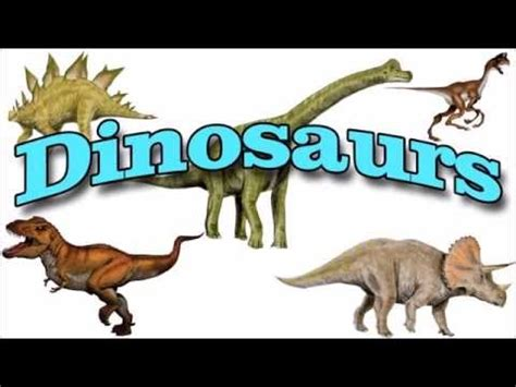 Names of Dinosaurs | Learn Dinosaur Names   YouTube