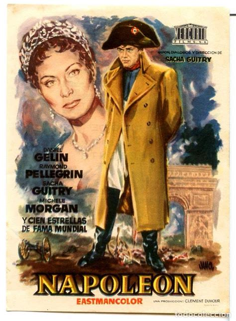 napoleon 1955  folleto de mano original  cine   Comprar ...