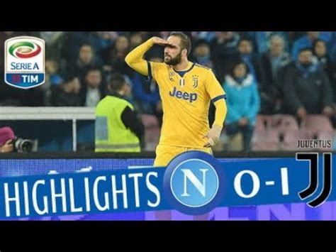 Napoli   Juventus 0 1   Highlights   Giornata 15   Serie A ...