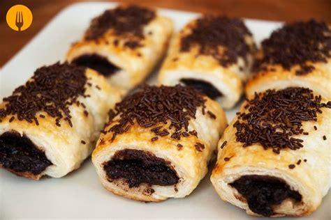 Napolitanas de Chocolate   Recetas de Cocina Casera ...