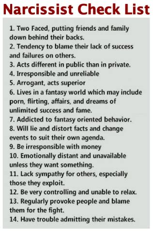 Narcissistic Personality Disorder | Psychopath Resistance