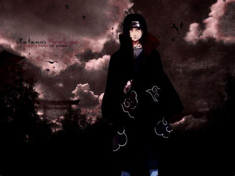 Naruto Shippuuden, Uchiha Itachi, Akatsuki, Clouds ...