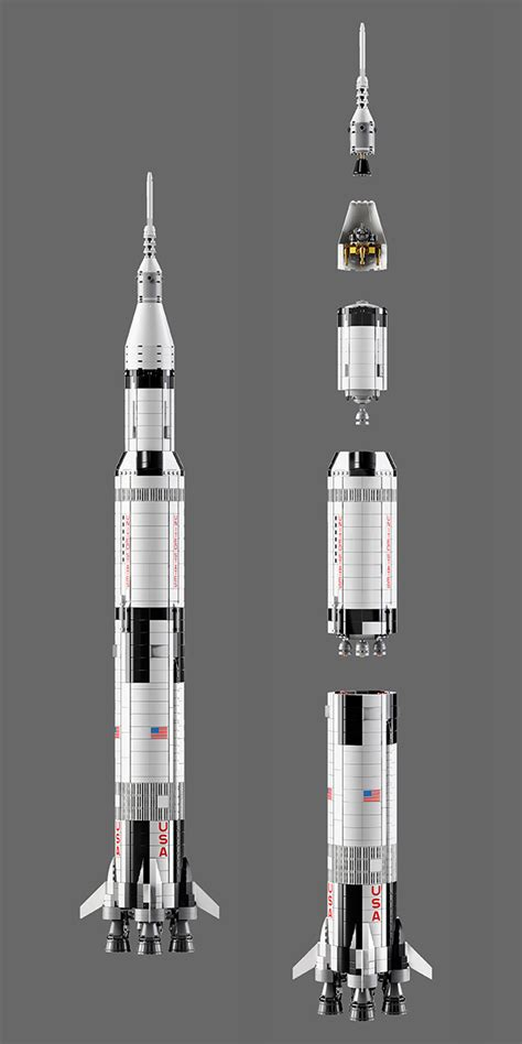 NASA Apollo Saturn V Launches Again, This Time As A Huge 3 ...