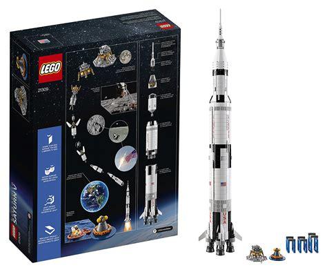 NASA Apollo Saturn V Rocket Lego Kit   Over 1 Meter High