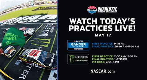 NASCAR.com to live stream six events from Charlotte ...
