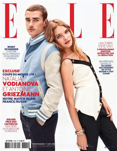Natalia Vodianova   ELLE France   2018 Cover   Louis ...