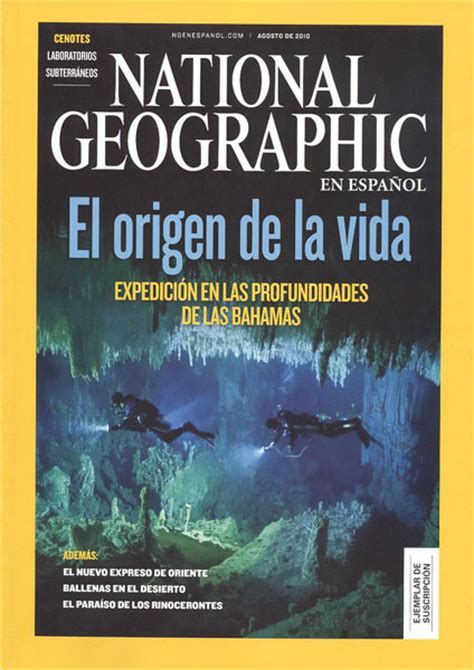 National Geographic en español   Biblioteca Manuel ...