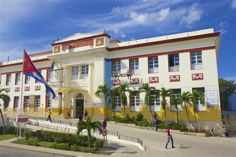 National Hospital In Havana, Cuba Editorial Stock Image ...