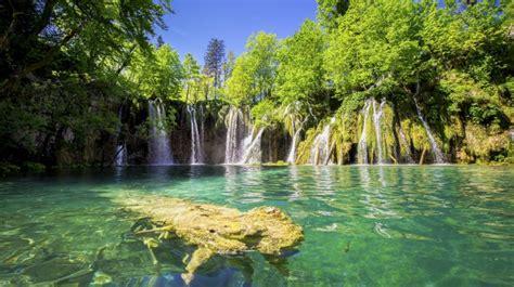 Nationalpark Plitvicer Seen Croatia Landscape Europe ...