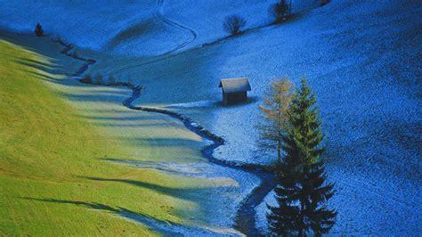 nature, Landscape, Trees, Tyrol, Austria, Valley, Pine ...