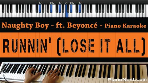 Naughty Boy ft. Beyonce   Running  Lose It All    Piano ...