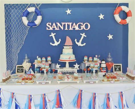 Nautical Birthday Party Ideas | mis cosas | Fiesta ...