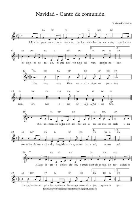 Navidad   Canto de comunión | Yo canto como David