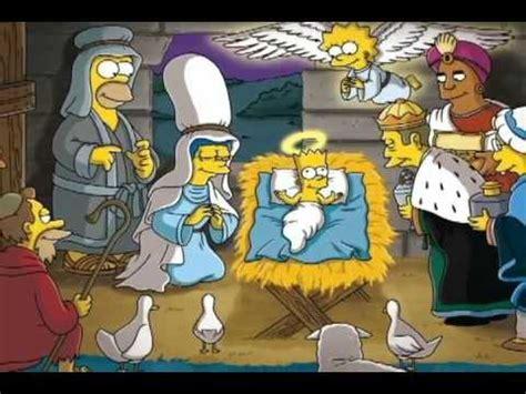 Navidad con Los Simpsons   YouTube