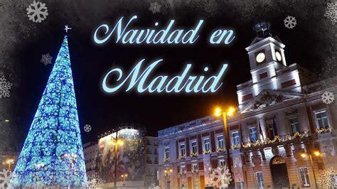 Navidad en Madrid 2016   Madrid. Christmas 2016   YouTube