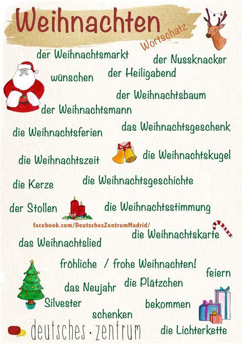 Navidad/ Weihnachten /Deutsch / German / alemán ...
