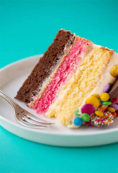 NEAPOLITAN CAKE   Easy Dinner Recipes For Every Week This Year