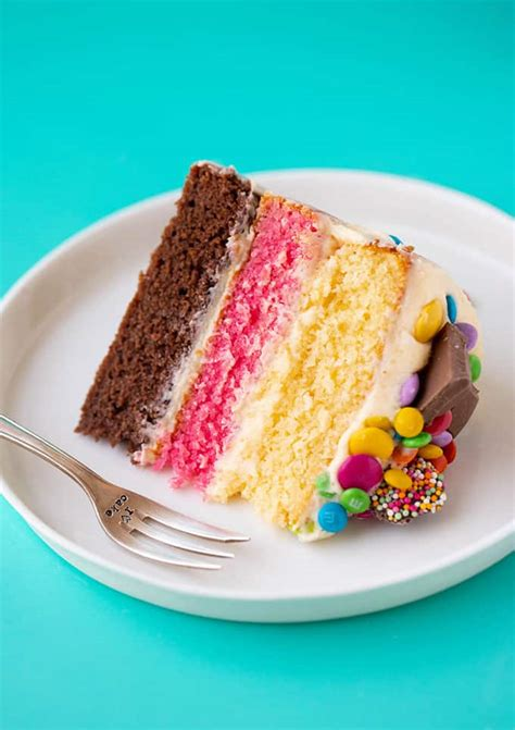 Neapolitan Cake  Quick And Easy    Sweetest Menu