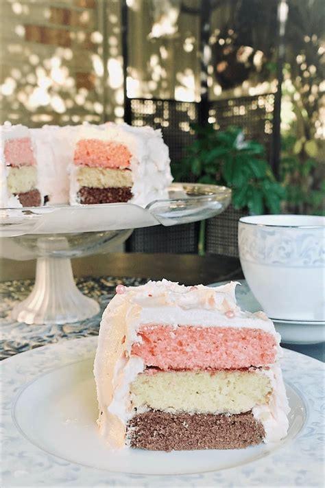 Neapolitan Cake Recipe   Cooking with Nana Ling Recipes