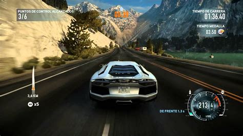 Need For Speed The Run : Lamborghini Aventador   YouTube