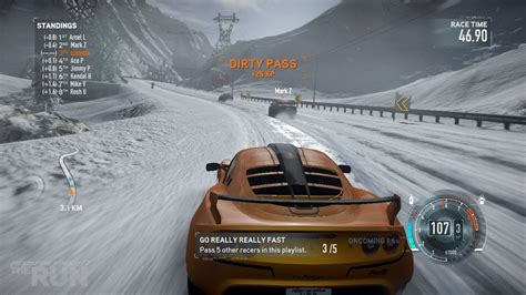 Need for Speed The Run: New Multiplayer Screens Released