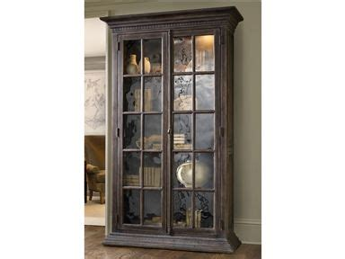 Need glamour and storage? Turn to our Hickory Display ...