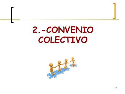 Negociacion colectiva y convenio colectivo