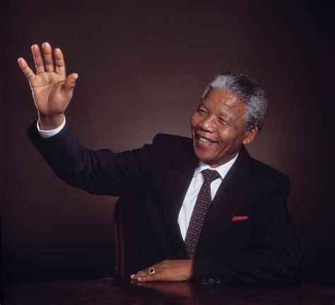 Nelson Mandela Becomes President – Yousuf Karsh