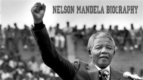 Nelson Mandela Biography   The First Black President of ...