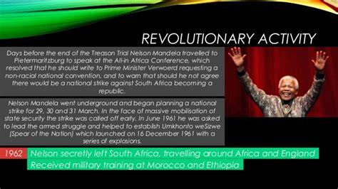 Nelson Mandela: Brief History