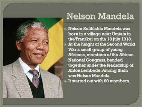 NELSON MANDELA by ROHAN UDHWANI |authorSTREAM