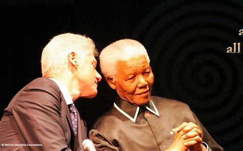 Nelson Mandela during a Banquet celebrating Africa's 100 ...