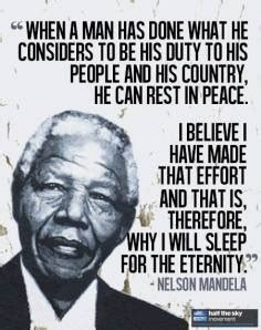 Nelson Mandela: Father of Our Nation   My Eye on the world