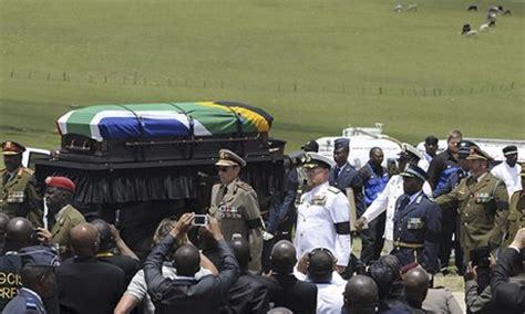 Nelson Mandela funeral: a gun salute, then still, silent ...