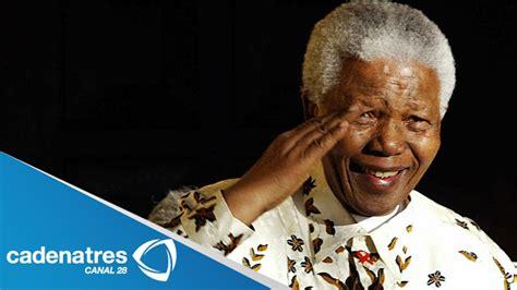 Nelson Mandela, ícono de la lucha incansable por los ...