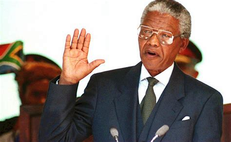Nelson Mandela Inauguration: South African Leader Became ...