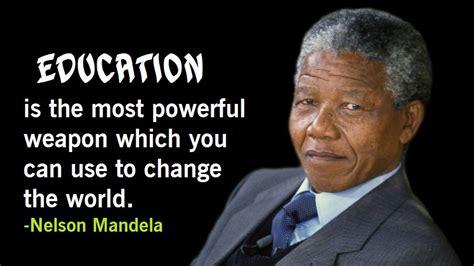 Nelson Mandela Inspirational and Motivational Words of ...
